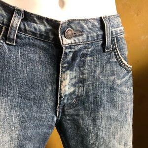 Armani Exchange boot cut jeans